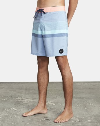 "4 RODGER BOARDSHORT 18"" Blue M1132RRT RVCA"