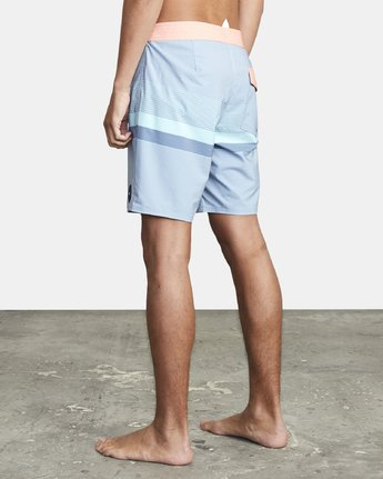 "5 RODGER BOARDSHORT 18"" Blue M1132RRT RVCA"