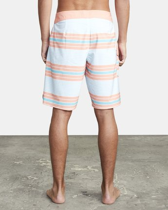 "4 UNCIVIL STRIPED 20"" TRUNK Blue M1161RUS RVCA"
