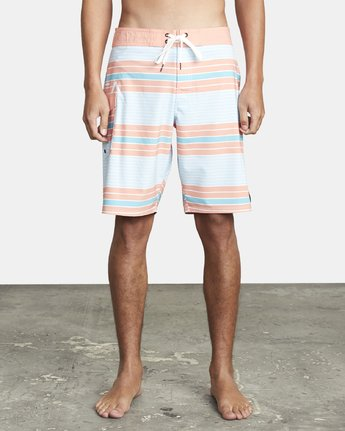 "1 UNCIVIL STRIPED 20"" TRUNK Blue M1161RUS RVCA"