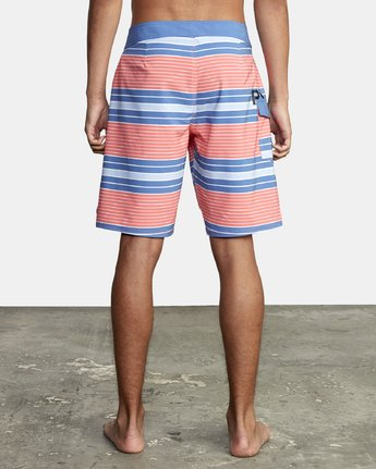 "3 UNCIVIL STRIPED 20"" TRUNK Pink M1161RUS RVCA"