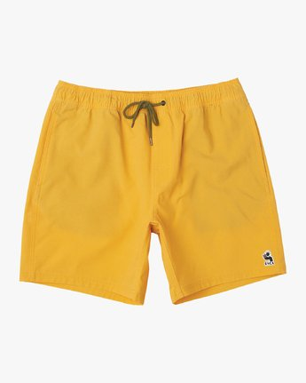 "0 Washer 17"" Elastic Trunk Yellow M119URWE RVCA"