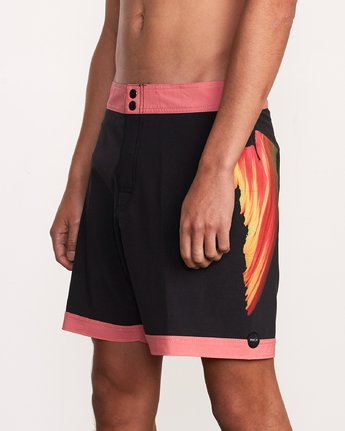 "7 Alex Knost 17"" Boardshort Pink M122URAK RVCA"