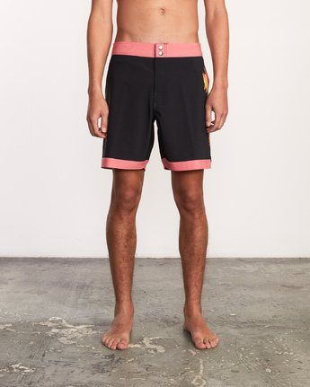 "1 Alex Knost 17"" Boardshort Pink M122URAK RVCA"