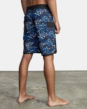 4 TROPICAL DMOTE TRUNK Blue M1262RTD RVCA