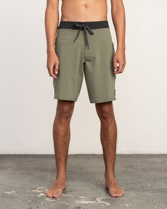 "1 VA Solid 19"" Boardshort Brown M154TRVA RVCA"