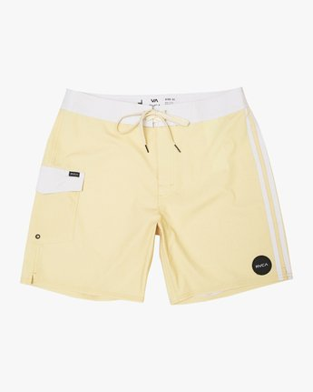 "0 Higgins 17"" Boardshort Yellow M159TRHI RVCA"