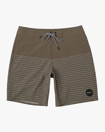 "0 Curren Caples 18"" Boardshort Green M163TRCU RVCA"