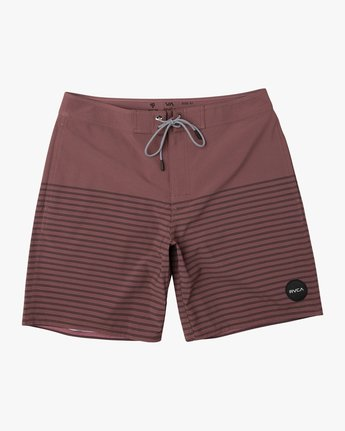"0 Curren Caples 18"" Boardshort Purple M163TRCU RVCA"
