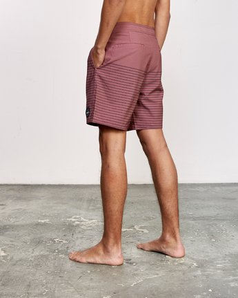 "3 Curren Caples 18"" Boardshort Grey M163TRCU RVCA"