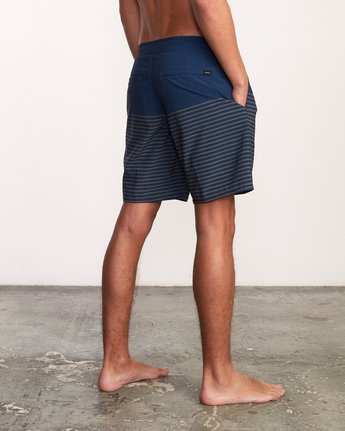 "5 Curren Caples 18"" Boardshort Blue M163TRCU RVCA"