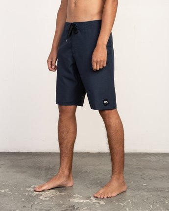"2 Upper 20"" Boardshort Blue M166TRUP RVCA"