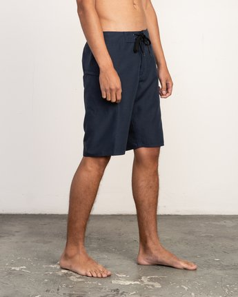 "3 Upper 20"" Boardshort Blue M166TRUP RVCA"