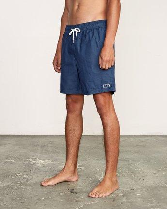 "2 Tom Gerrard Elastic 17"" Trunk Blue M170TRGE RVCA"