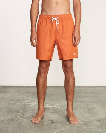 "1 Tom Gerrard Elastic 17"" Trunk Orange M170TRGE RVCA"