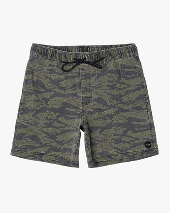 ESCAPE ELASTIC PRINT SHORT  M2011REP