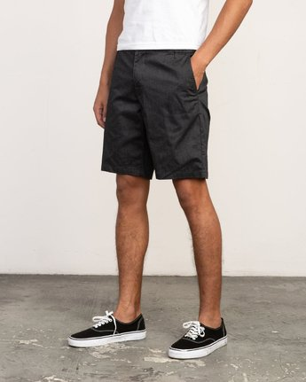 2 All Time Session Short Black M201TRSE RVCA