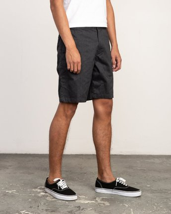 """5 All Time Session 19"""" Short Blue M201TRSE RVCA"""