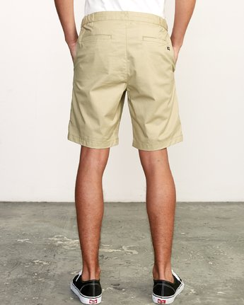 "3 All Time Session 19"" Short Beige M201TRSE RVCA"
