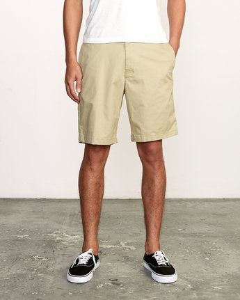 "1 All Time Session 19"" Short Beige M201TRSE RVCA"