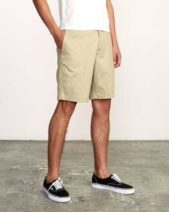 "5 All Time Session 19"" Short Beige M201TRSE RVCA"