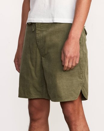 "8 Reed 18"" Walkshort Brown M201URRW RVCA"