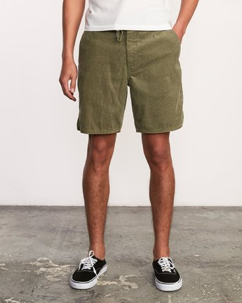 "2 Reed 18"" Walkshort Brown M201URRW RVCA"