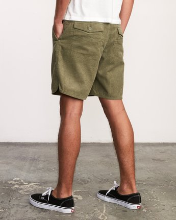 "4 Reed 18"" Walkshort Brown M201URRW RVCA"