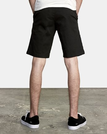 "3 WEEKEND STRETCH 20"" SHORT (40, 42) Black M202NRWS RVCA"