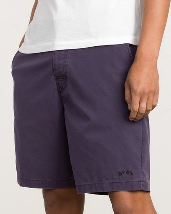 7 Canvas All Time Hybrid Short Blue M202QRCA RVCA