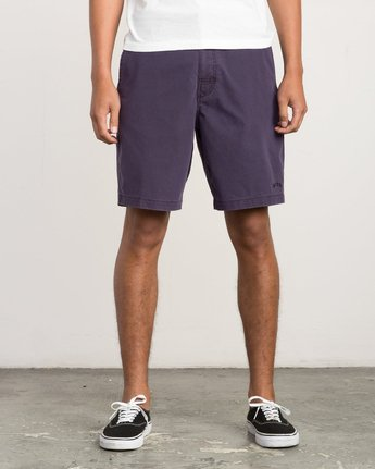 1 Canvas All Time Hybrid Short Blue M202QRCA RVCA