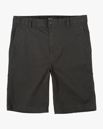 "0 DAGGERS 19"" CHINO SHORT Black M202TRDC RVCA"