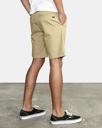 "10 DAGGERS 19"" CHINO SHORT Purple M202TRDC RVCA"