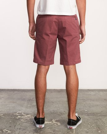 "4 DAGGERS 19"" CHINO SHORT Grey M202TRDC RVCA"