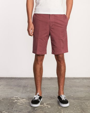 "1 DAGGERS 19"" CHINO SHORT Grey M202TRDC RVCA"