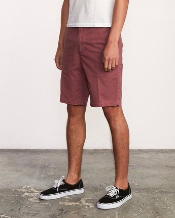 "2 DAGGERS 19"" CHINO SHORT Grey M202TRDC RVCA"