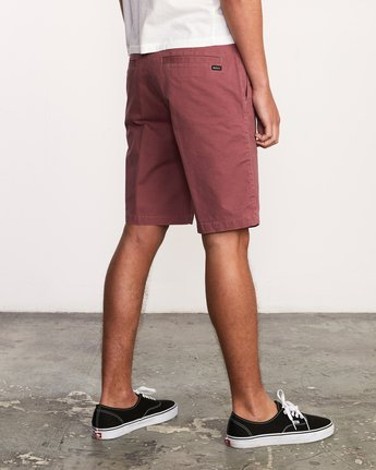5 Daggers Chino Short Purple M202TRDC RVCA