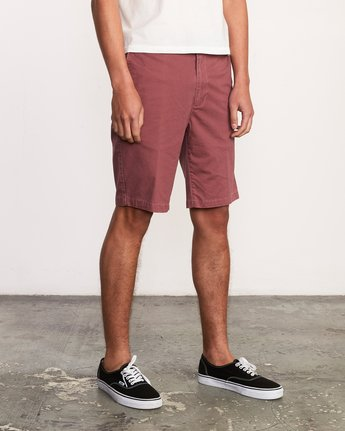 "6 DAGGERS 19"" CHINO SHORT Grey M202TRDC RVCA"