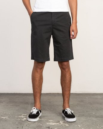 "1 DAGGERS 19"" CHINO SHORT Black M202TRDC RVCA"