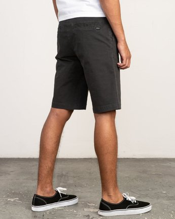 "5 DAGGERS 19"" CHINO SHORT Black M202TRDC RVCA"