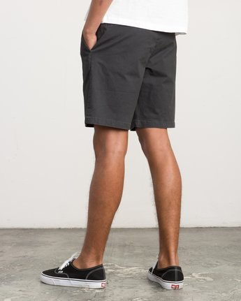 3 Chaos Chino Short Black M203QRCH RVCA