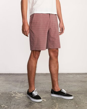 6 Balance Fairview Hybrid Short Grey M203URFH RVCA