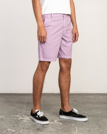 6 Butterball Over Dye Short Purple M205PRBU RVCA