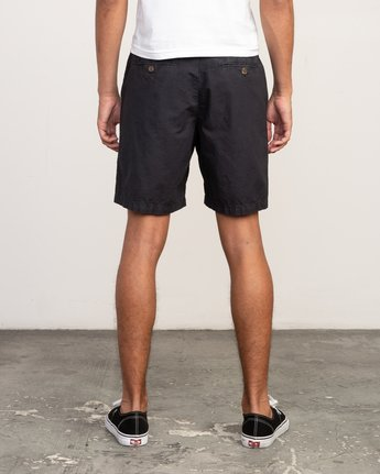 4 Butterball Over Dye Short Black M205PRBU RVCA