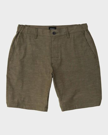 0 All Time Coastal Hybrid Short Green M206QRCO RVCA