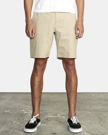 8 ALL TIME SOLID COASTAL HYBRID SHORT Beige M206QRCO RVCA
