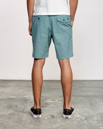 4 All Time Coastal Hybrid Short Green M206QRCO RVCA