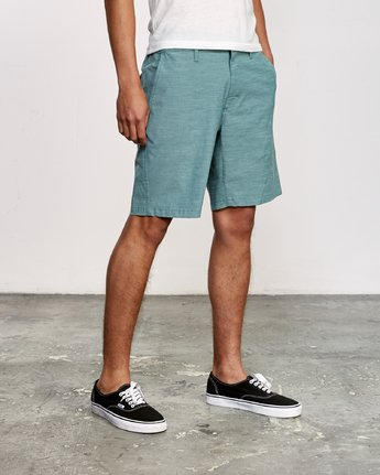 5 All Time Coastal Hybrid Short Green M206QRCO RVCA