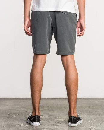 4 All Time Coastal Hybrid Short Grey M206QRCO RVCA