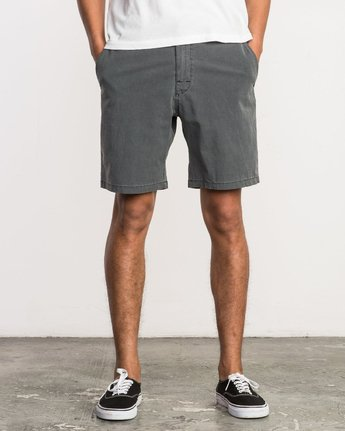 1 All Time Coastal Hybrid Short Grey M206QRCO RVCA
